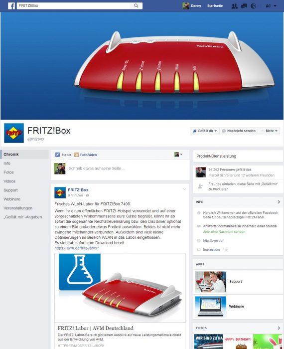 Facebook Seiten Update 2016