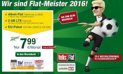 Smartmobil Volks-Flat EM 2016