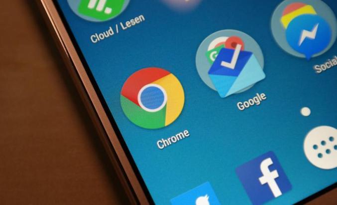 Chrome Logo Header