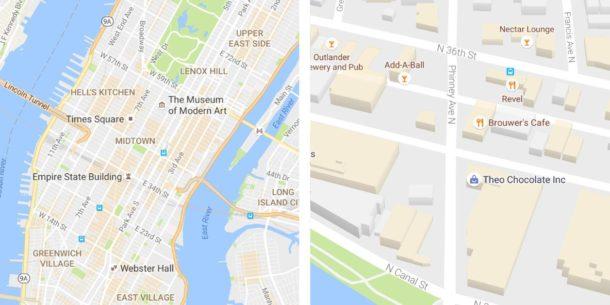 Google Maps Kartendesign Update Juli 2016 (2)