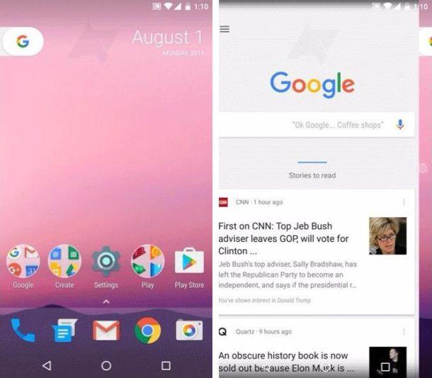 Nexus Launcher 2016 leak