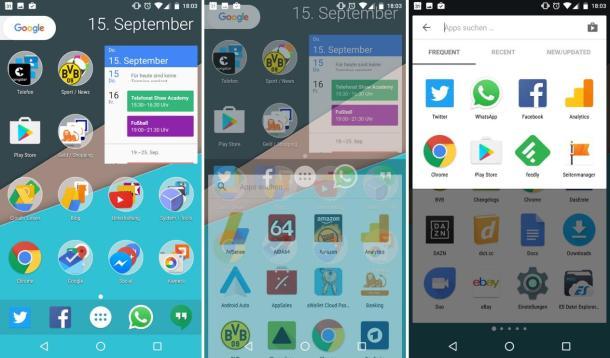 nova launcher beta september 2016 pixel launcher gimmicks