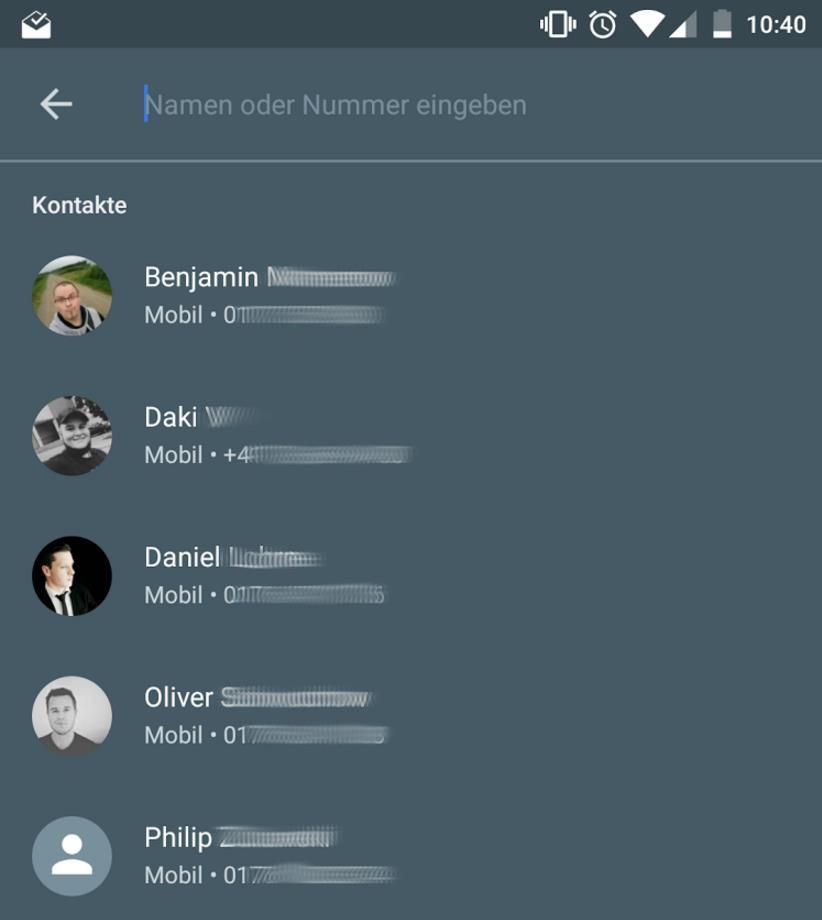 kontakte ohne registrierung