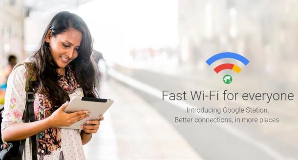 Google Station Header