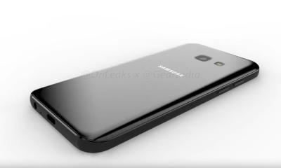Samsung Galaxy A3 2017 Rendering Leak