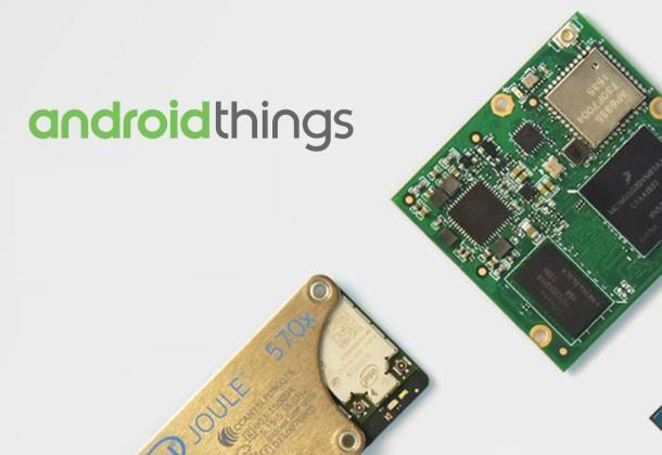 Android Things Logo Header