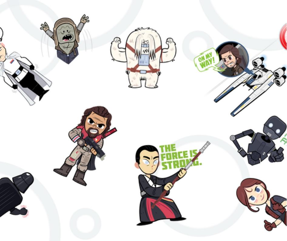 Rogue One Sticker Paket Google Allo (2)