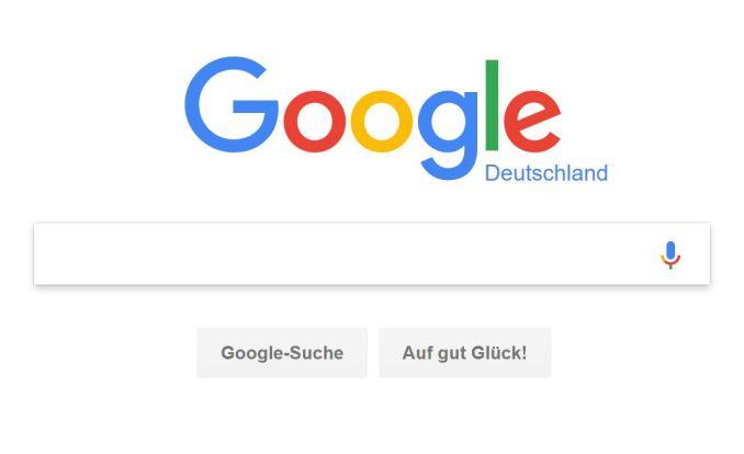 Google Suche Header Logo