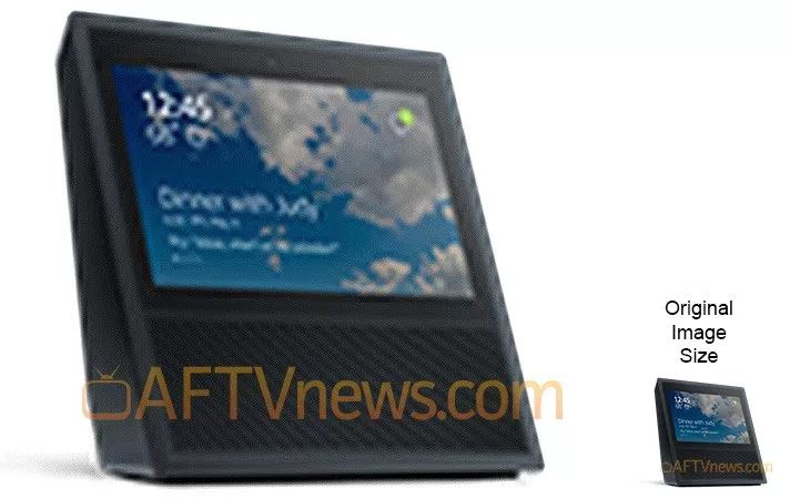 Amazon Echo Touchscreen leak