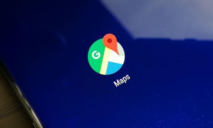 Google Maps Logo Header