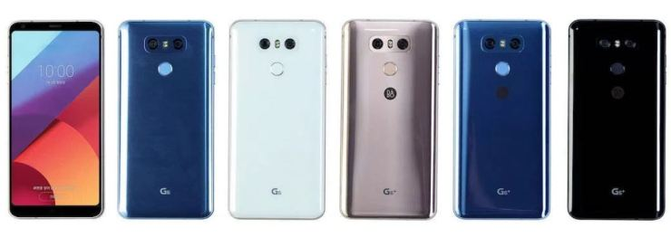 LG G6 Farben