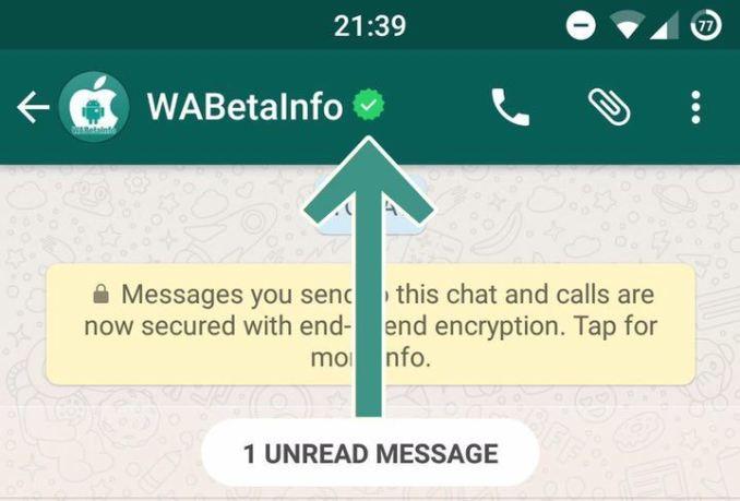 WhatsApp Verifizierung