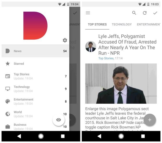 Daily App Screenshots
