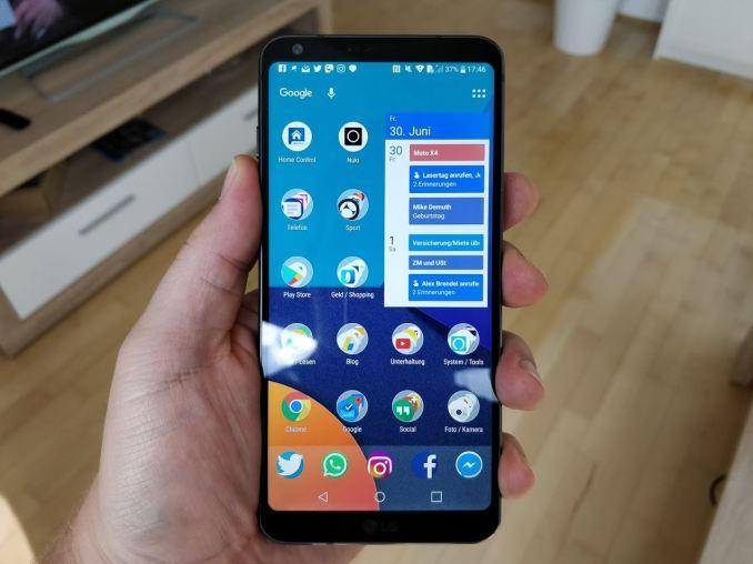 LG G6 Testbericht Display