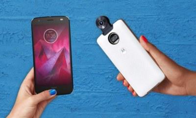 Motorola Moto Z2 Force 360 Kamera Moto Mod