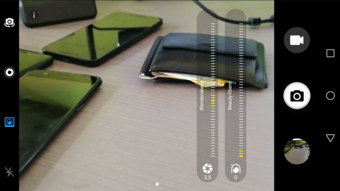Huawei nova 2 Kamera-App