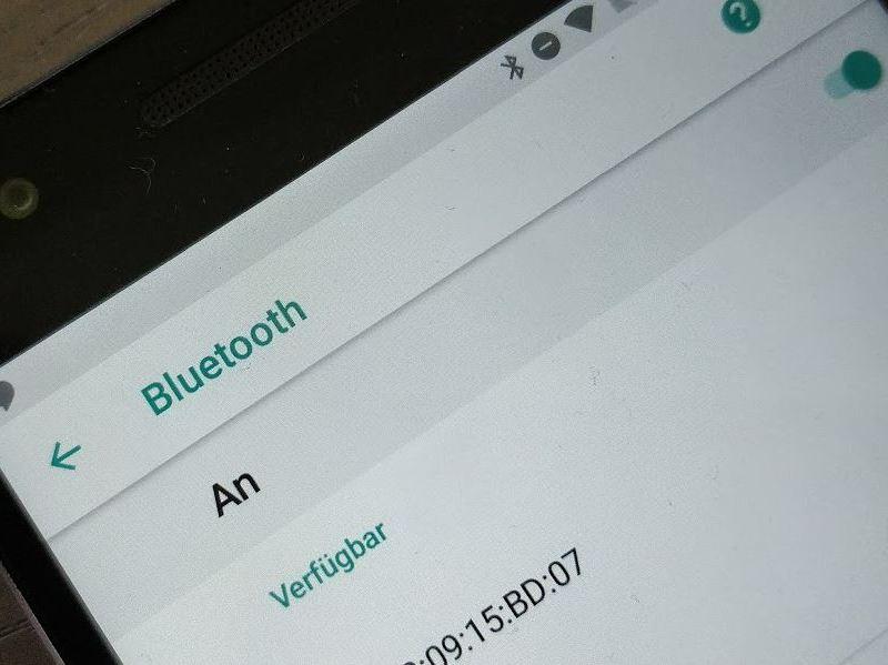 Bluetooth Android 8 Oreo Einstellungen Header