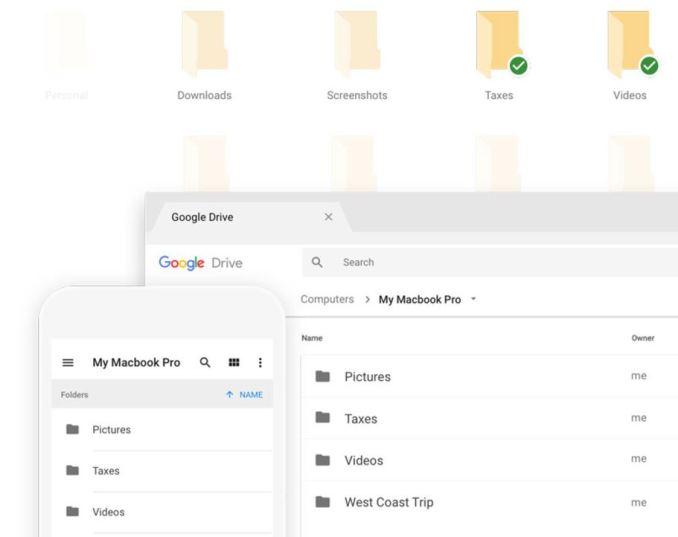 Google Backup & Sync Header