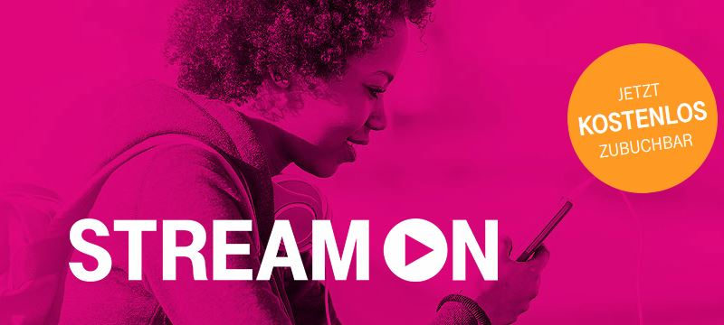 Telekom StreamOn Header