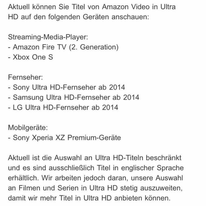 Amazon Mail UHD