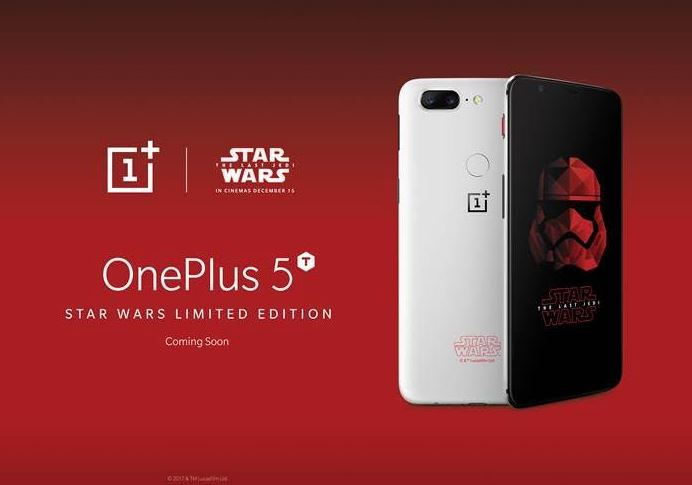 Star Wars OnePlus 5T