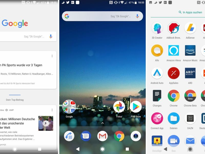 Android One Launcher Port Januar 2018