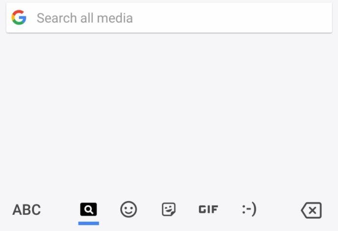 Gboard Medien Suche Leak