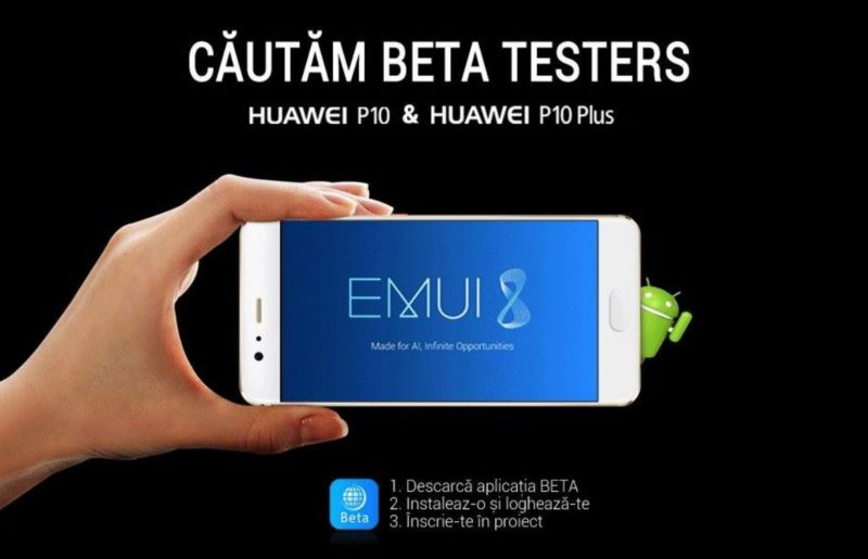 Huawei P10 Beta Test Android 8