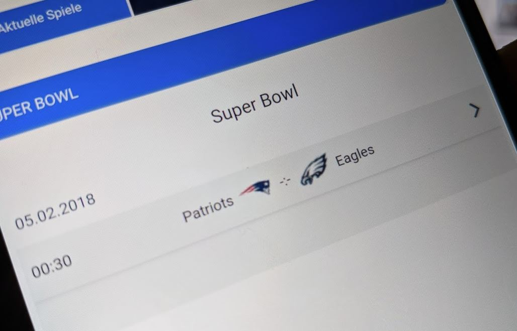 Super Bowl 52 Streaming Header