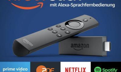 Amazon Fire TV Stick mit Fernbedienung Header