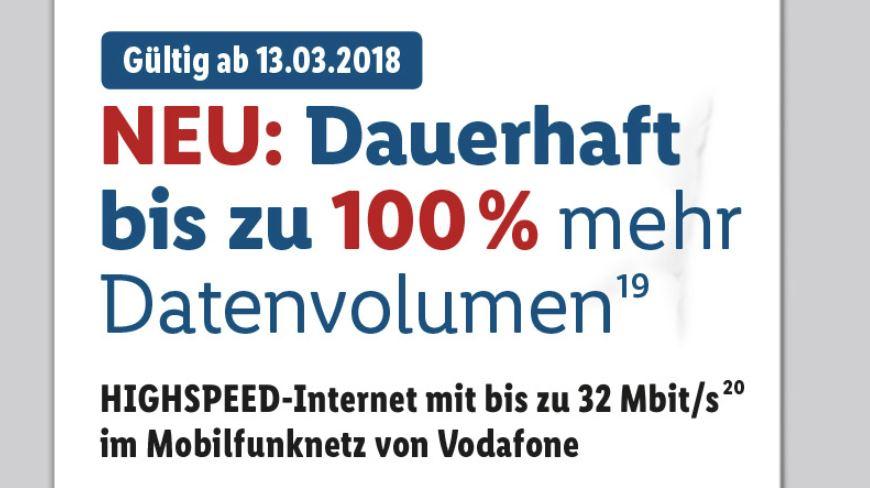 Lidl Connect März 2018