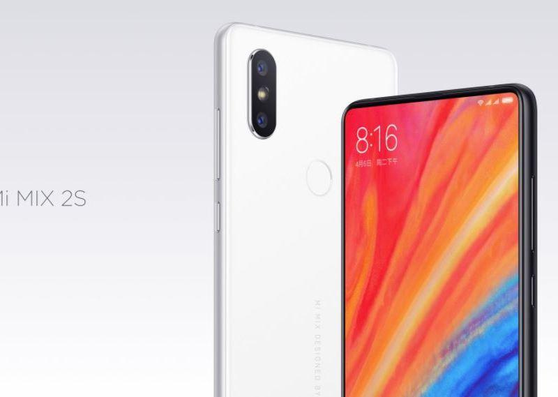 Xiaomi Mi Mix 2S Header