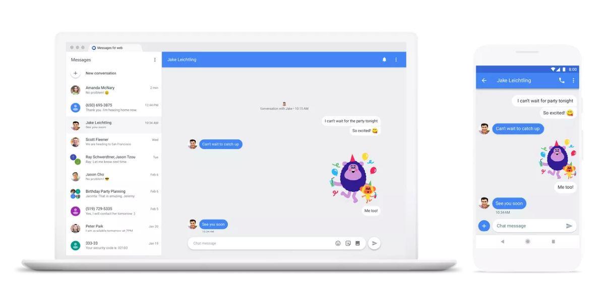 Google Chat: Jetzt kommt der echte Android-Messenger – ohne Mitarbeit der Mobilfunkanbieter