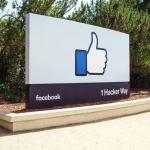 Facebook Like Button Sign Head Quarter Header