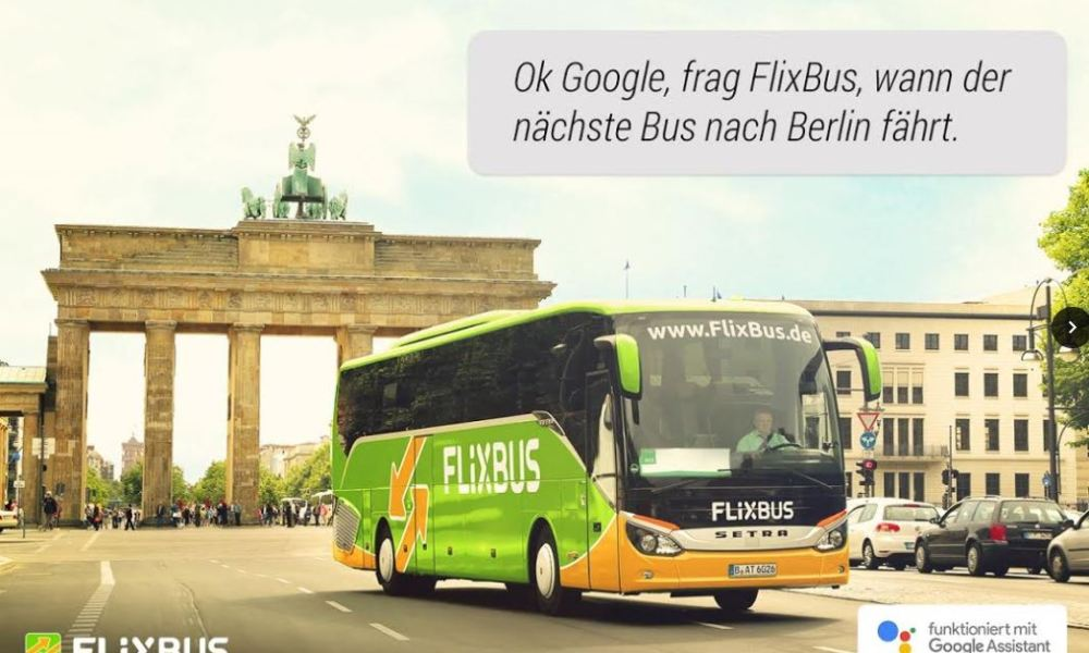 Flixbus Google Assistant