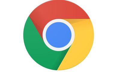 Google Chrome Browser Chrome OS Logo Header