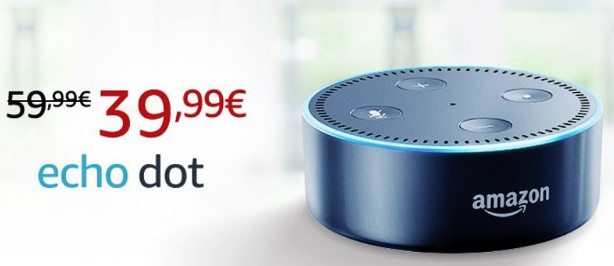 Amazon Echo Dot 40 Euro Anegbot