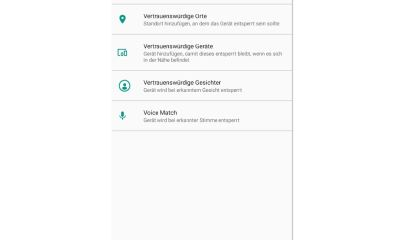 Android Smart Lock Screenshot Header