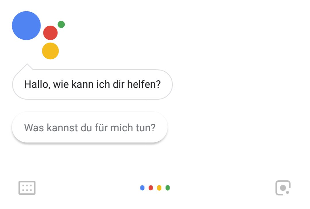 Google Assistant mit Lens Button