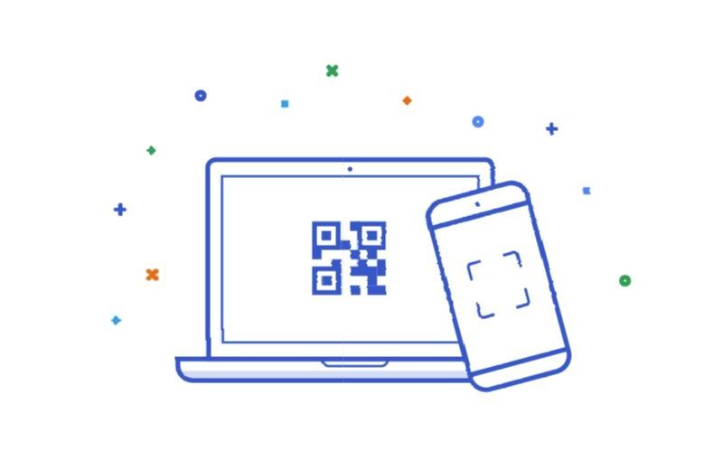 Android Messages Web QR Header