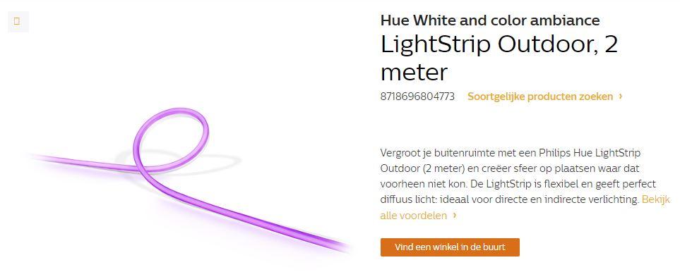 Philips Hue Bekommt Outdoor Lightstrip