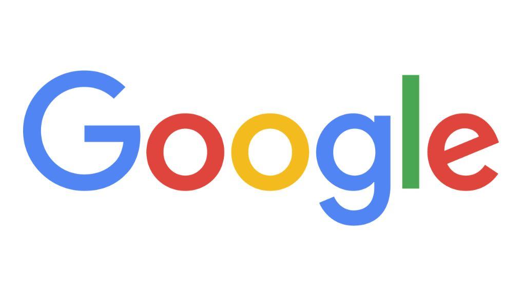 Google Schriftzug Logo Header