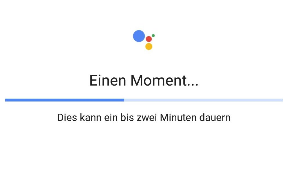 Google Assistant Lade-Bug