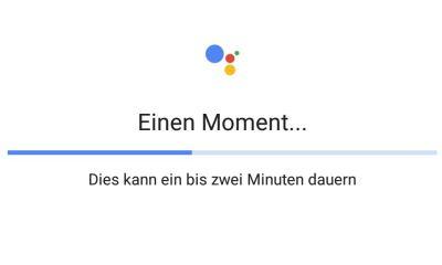 Google Assistant Lade-Bug