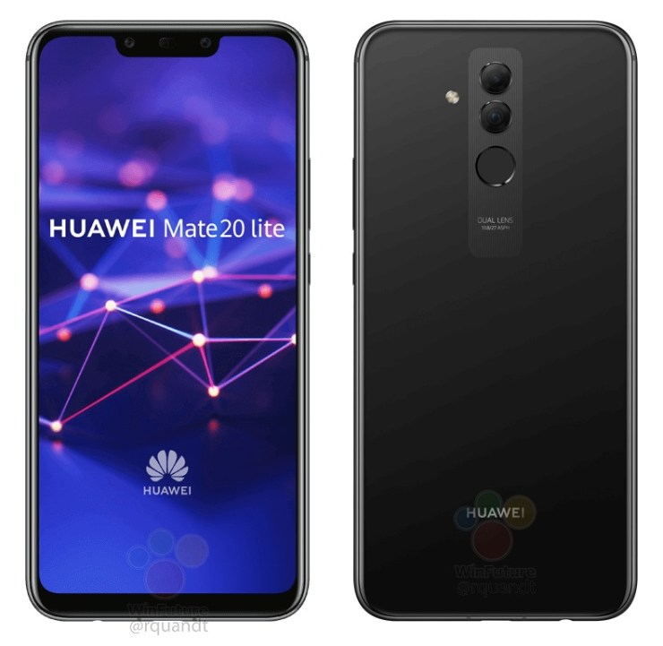 Huawei Mate 20 lite leak 2