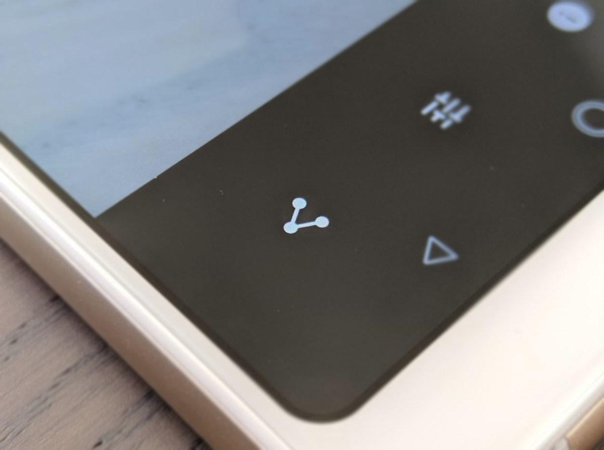 Android teilen Taste