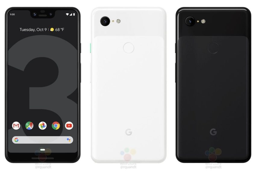 Google Pixel 3 XL Leak September 2018 (1)