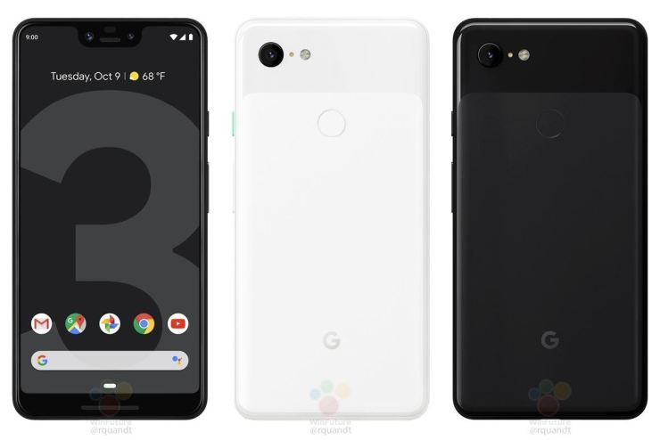Google Pixel 3 XL Leak September 2018 (1)