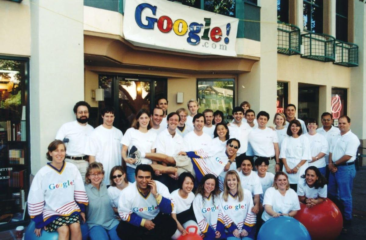 Google Team Palo Alto 1998