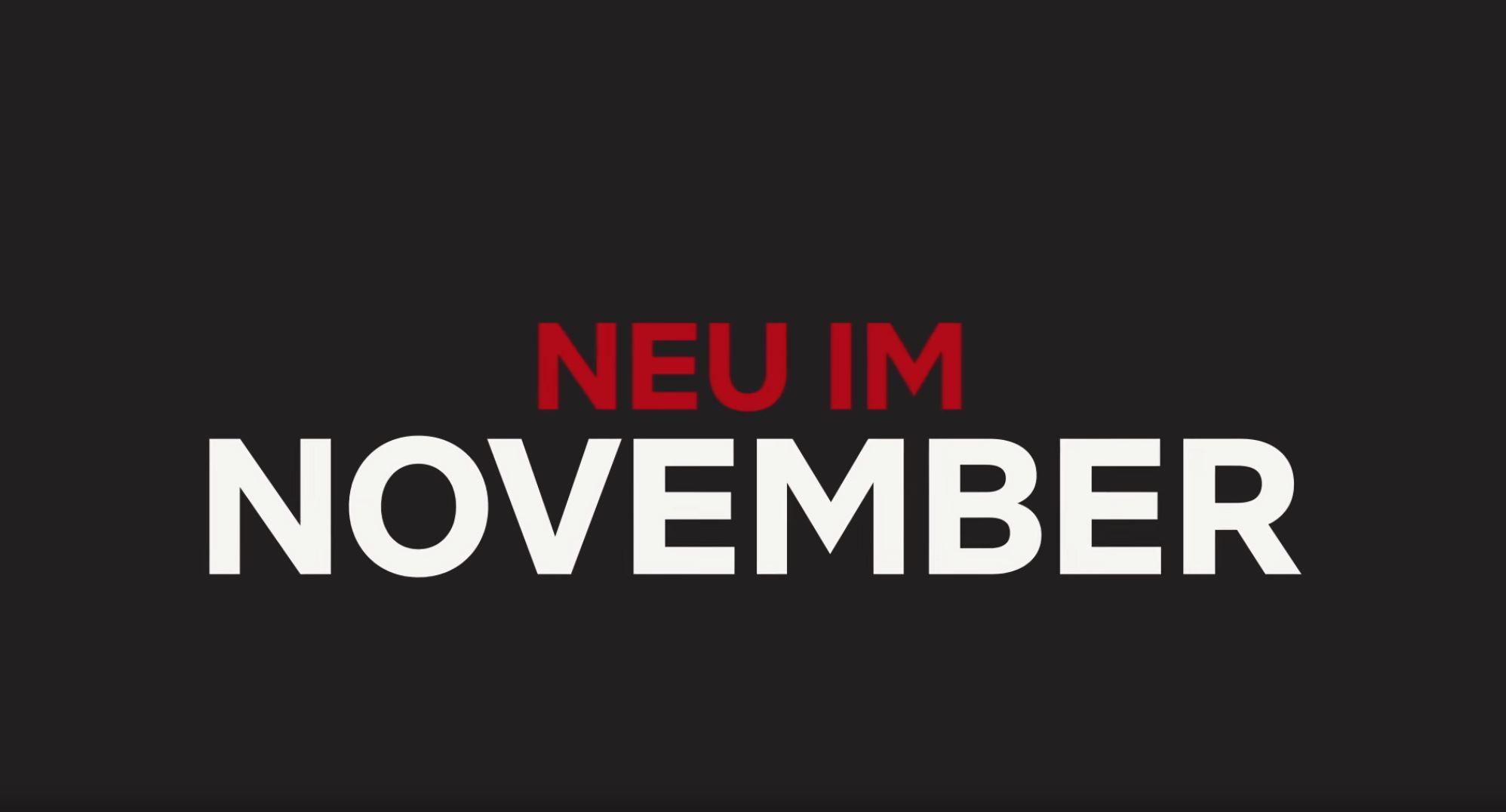 Netflix verkündet neue Filme und Serien für November 2019